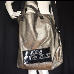 Marc Jacobs XL Tote Crossbody Satchel Book Bag